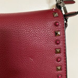 Urban Expressions Vegan Leather Flap Bag